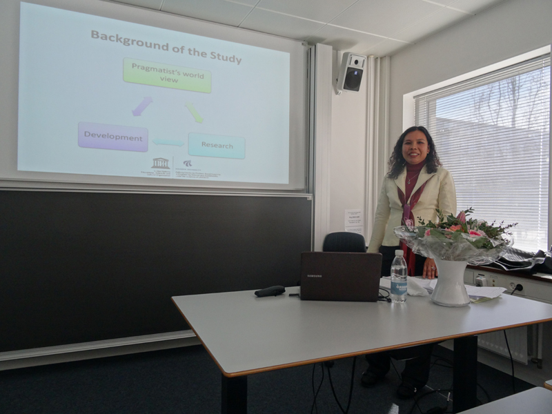 PhD Defense by Prarthana Coffin